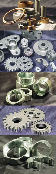 sintered metal components
